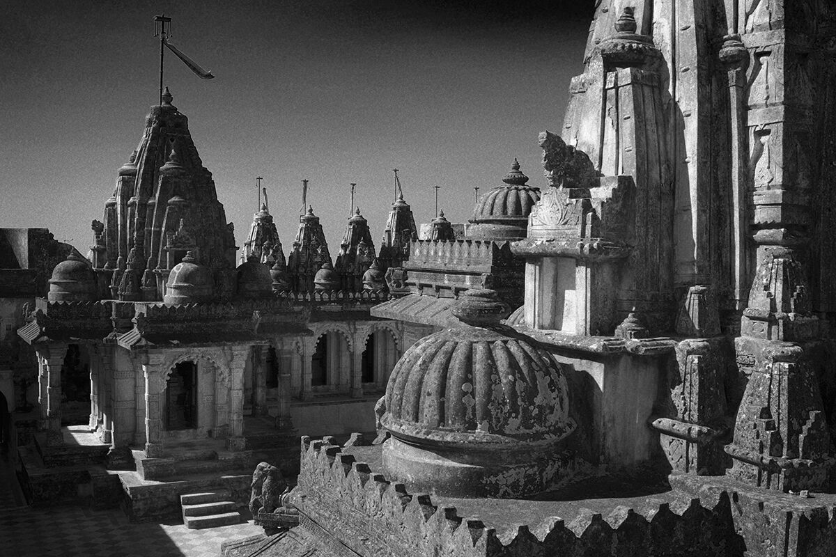 Jain Temple. Shatrunjaya, Gujarat. India