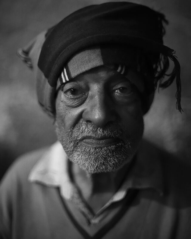 Morning At The Chai Stall. Portrait No. 2.  Bundi, India.